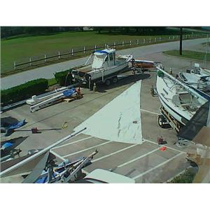 Jib w Luff 34-5 from Boaters' Resale Shop of TX 1710 0442.93
