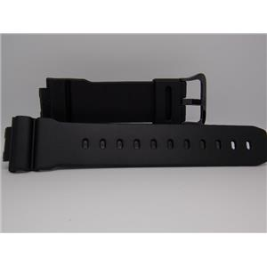 Casio Watch Band DW-6900 BW-1,GB-6900: AA-1, AB-1 Strap. W/ Black Steel Buckle.