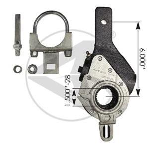 Haldex 40010144 type air brake slack adjuster replacement for Haldex