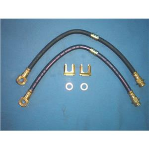 Chevy Camaro Nova Pontiac Brake hose Set 2 hoses  1969-72  Made in USA
