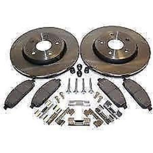 Lexus RX300 1999-2001  Front  brake kit  pads, rotors & hardware