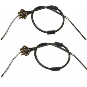 Chevrolet Truck 1/2 ton Brake cable set REAR also fit GMC truck 1951-1955