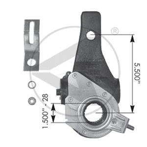 Haldex type air brake slack adjuster replacement for Haldex 40010156