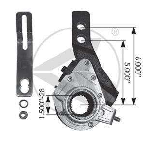 Haldex 40010140 type air brake slack adjuster replacement for Haldex 40010140
