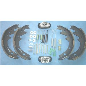 Drum brake shoe kit Ford Bronco rear 1974 1975 10 inch shoes cylinder hdwr