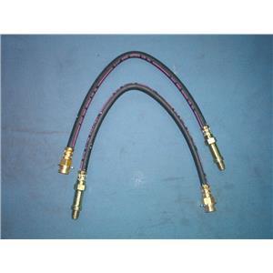Brake hose set FRONT Buick Chevrolet Pontiac Oldsmobile (2 hoses) 1968-1970 USA