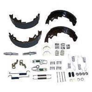 Brake shoe kit Chrylser Dodge Plymouth Mini Van 1996-2007 w/hardware & adjusters