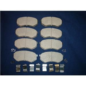 Mitsubishi Fuso FE Brake pads with hardware Model FE639 1995-2004