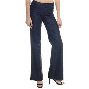 25 NWT Joe's Jeans Icon Muse Wide Leg High Waist Bianca Dark Blue Indigo Stretch