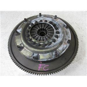 JDM Mazda RX-7 FC3S OS GIKEN Twin Plate Clutch Kit Flywheel Pressure Plate Disc