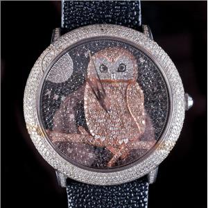 Limited Edition Le Vian Wild Time Collection Watch W/ Stingray Leather Band