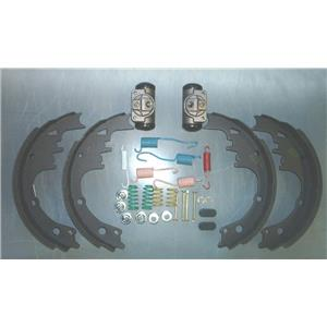 Brake shoe kit Chevy 1/2 ton truck 1964-1975 shoes cylinders and spring kit REAR