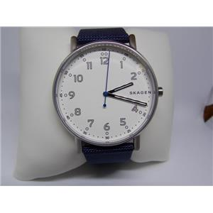 Skagen Watch SKW6356 Mens.Easy Read Dial.Steel Case.Glass Crystal.Washable Strap