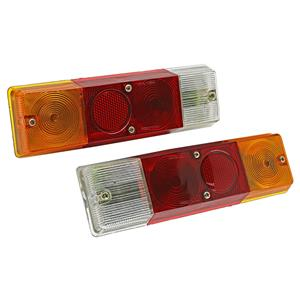 1 Pair Rear Tail Light Lamp For Nissan Datsun 720 Truck Cab Chassis 1980-86