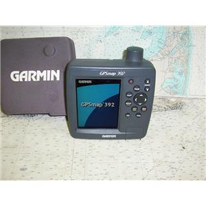 Boaters' Resale Shop of TX 1711 0777.01 GARMIN GPSMAP 392 GPS/PLOTTER DISPLAY