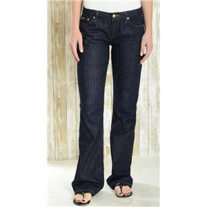 Sz 29 Joe's Jeans Honey Curvy Bootcut Dark Wash Stretch Low Rise Jeans In Perry