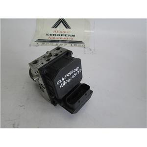 Audi A6 Volkswagen Passat ABS pump and module 0265950081 4B0614517P