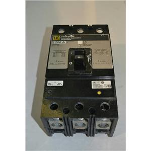 Square D KHP36200 Circuit Breaker, 600V, 200A, 3 Pole