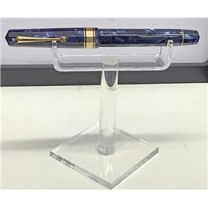 Omas Royal Blue Paragon Celluloid Rollerball Pen Gorgeous!!