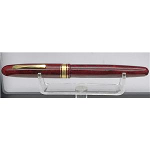 Omas Ogiva Burlwood Rollerball Pen in Red  Beautiful!!