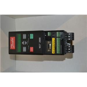 Danfoss VLT 2800 AC Frequency Drive, 200-240V, 7.6A, VLT2815PD2B20STR0DBF00A00