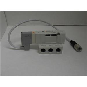 SMC SV2200R-5W1U-02 Single Valve IP67 Protection 5Volts Port size 02/114 Pilot R