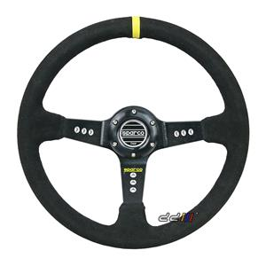 350mm SC Style Deep Dish Racing Steering Wheel Can Fit MOMO SPARCO OMP Boss Kit