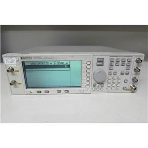 Agilent E4433B RF Signal Generator 250kHz - 4GHz ESG-D opt UN8 UN9 UND 202