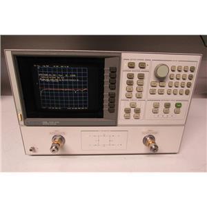 Agilent HP 8720B Network Analyzer, 130 MHz to 20 GHz Opt 001, 010