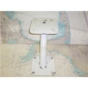 "Boaters' Resale Shop of TX 1710 2771.14 LEANING 10"" RADAR MOUNTING PEDESTAL"