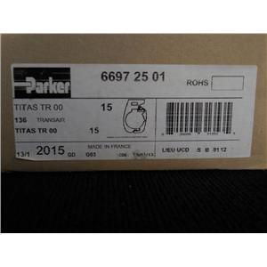 Polyamide Pipe Clip, Black  66972501, Box of 15