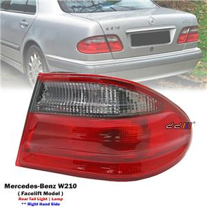 Rear Right Hand Side Tail Light Lamp For Mercedes Benz W210 Facelift 2000-02