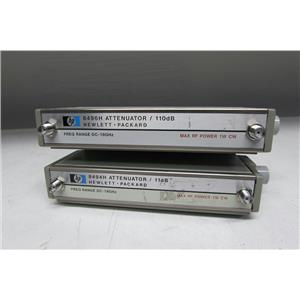 Agilent 8494H + 8496H Program. Step Attenuator, DC to 18 GHz,11 dB OPT 002, SMA