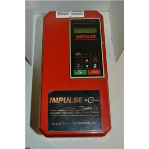 Electromotive Impulse G+ Series 2 CIMR-G5U40P4 4001-AFG+ AC Drive 460V, 0-400Hz