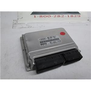 Audi ECU ECM engine control module 0261207878 8E0909518F