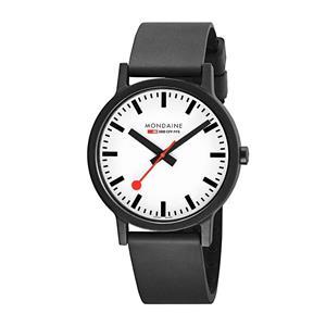 Mondaine Watch MS1.32110.RB Essence Ladies Minimalist Swiss Watch. Rubber Strap