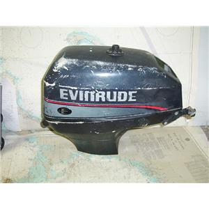 Boaters' Resale Shop of TX 1712 4105.071 EVINRUDE 15 HP 2 CYCLE OUTBOARD HOUSING