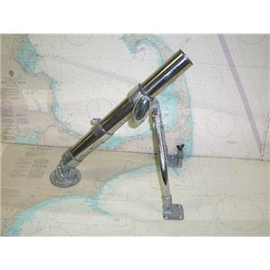 """Boaters' Resale Shop of TX 1711 1245.07 PERKO 2"""" WISHBONE OUTRIGGER BASE"""