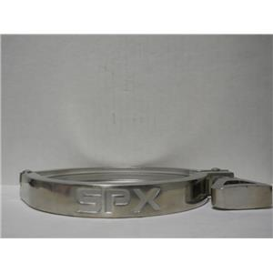 "SPX 4.0"" STAINLESS STEEL SANITARY CLAMP MODEL 119-49 13MHHM"