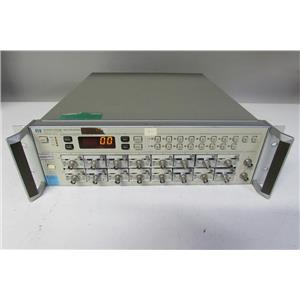 Agilent HP 54300A Probe Multiplexer w/ 16 54002A module