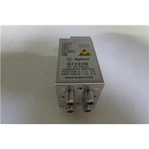 Agilent HP 87222D Transfer Switch - DC to 40 GHz opt 100