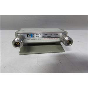 Agilent 8495G Program Step Attenuator DC-4Ghz 70 dB in 10 dB steps, opt 001
