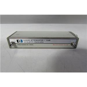 Agilent HP 8494H Programmable Step Attenuator, Opt 002, sma