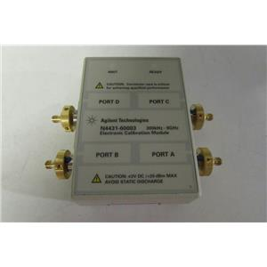Agilent HP N4431-60003 Electronic Calibration Module, 300 mHz to 9 gHz