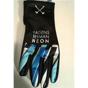 Ale Team Axeon–Hagens Berman Neon Winter Cycling Gloves - Small