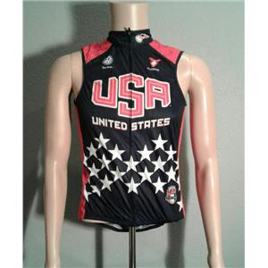Coure Team USA  American Cycling Vest - Small - Defects