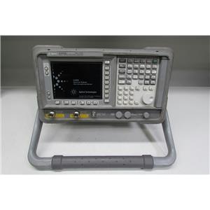 Agilent E4402B Spectrum Analyzer, 9KHz- 3.0GHz, opt 1DS, 1DN, 1AX, BAA