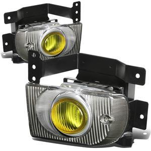 Driving Fog Light Lamp Yellow Lens JDM Style for Honda Civic 92-95 Sedan EG9 SR4