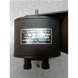 Madison Electric Products 6666-4 A.C Tachometer Generator