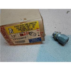 Arlington Ind LPCG507Z Strain Relief Cord Connector 1/2